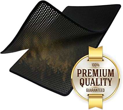 Amazon.com: trapmats Premium Cat Litter Catcher Trampa Mat ...
