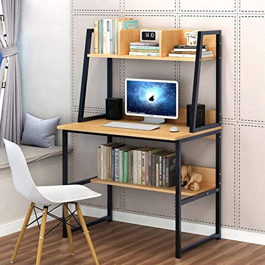 "Amazon.com: 31.5"" Computer Desk with Hutch for Small Space, PC"