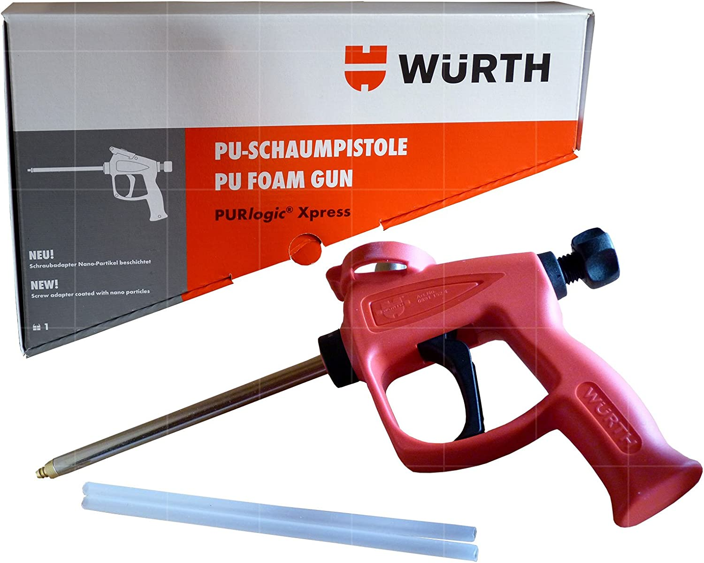 Würth PU Purlogic Schaumpistole Xpress Bauschaumpistole rot Pistole Neu