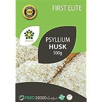 First Elite Psyllium Husk - High Purity Whole Husk Isabgol, 500g