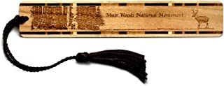 product image for Personalized Muir Woods National Monument, California - Engraved Wooden Bookmark with Tassel