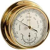 Ordentlich Barigo Maritim Wetterstation Analog Regatta Baro Thermo Hygro Chrom Barometer