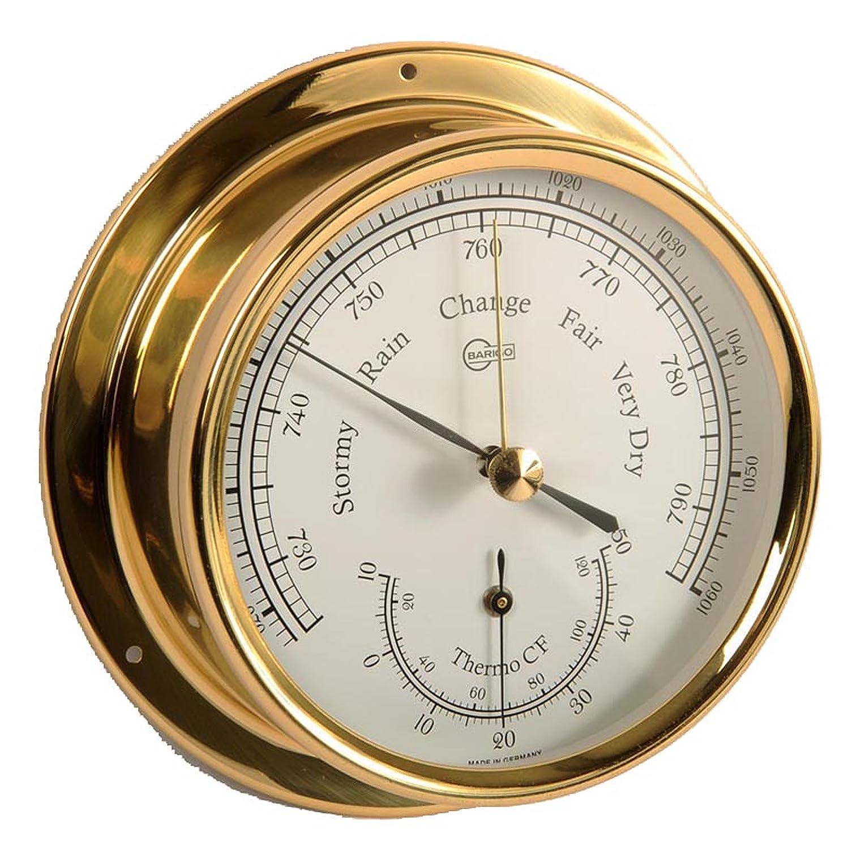 Barigo Barometro/Termometro modello Regata in ottone 186.1