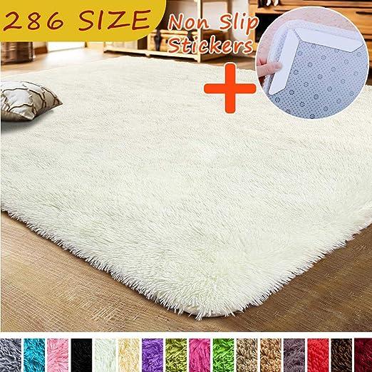 MODKOY alfombras Lavables en Lavadora Dormitorio Tela Lavable ...