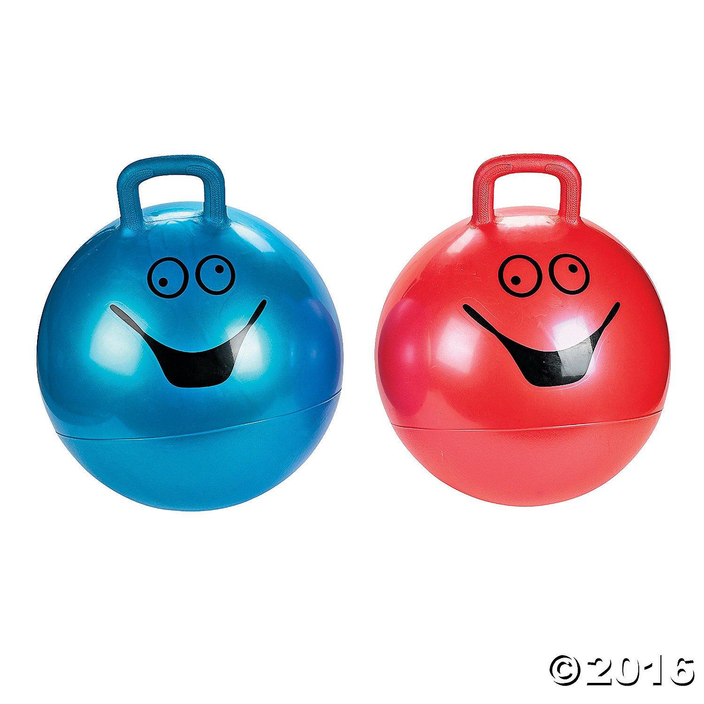 Hopping Ball 15 Gym Ball Sport Ball Bounce Ball Hoppity Hop Ball Red or Blue