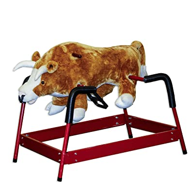 PonlyLand Toys Spring Bull with Sound: Toys & Games