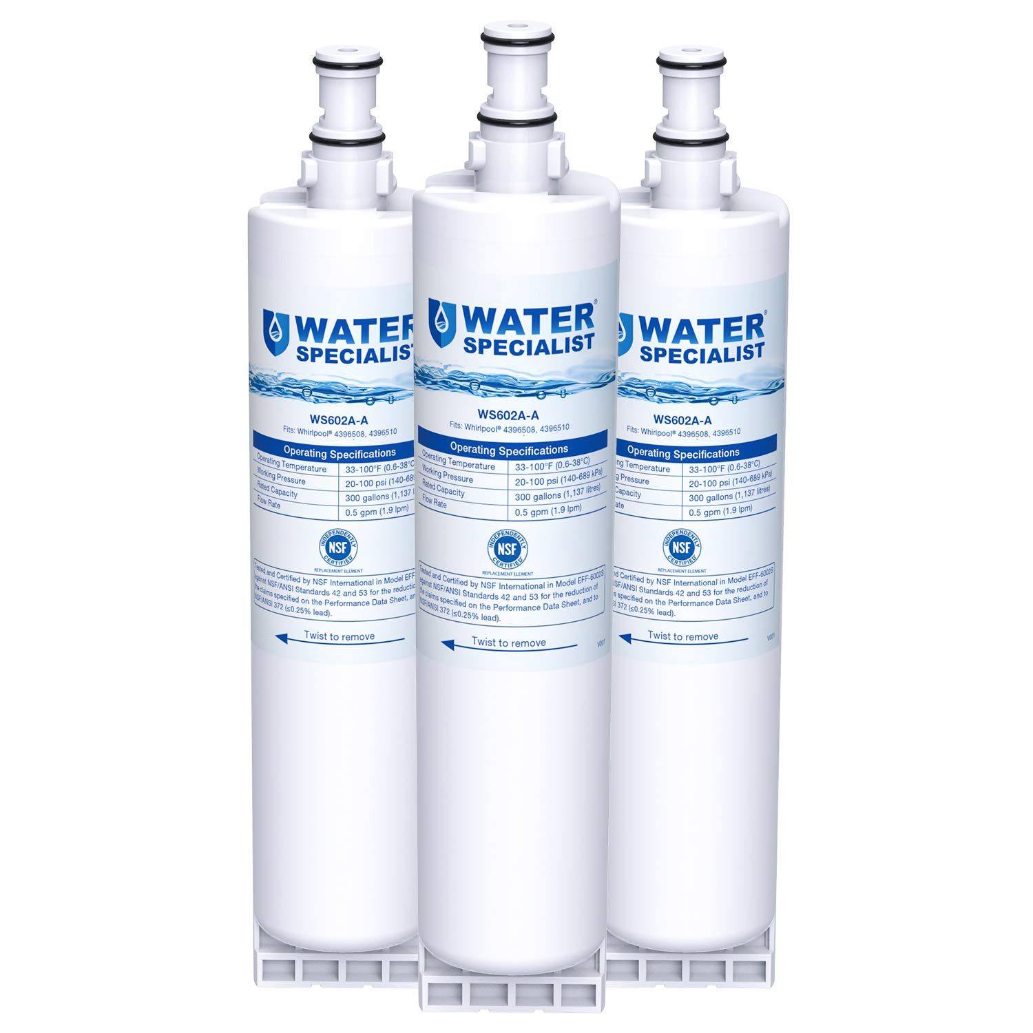 Waterspecialist 4396508 Replacement Refrigerator Water