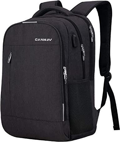 Travel Laptop Backpack for Women Men with USB Charging Port Fits 15.6  Laptop