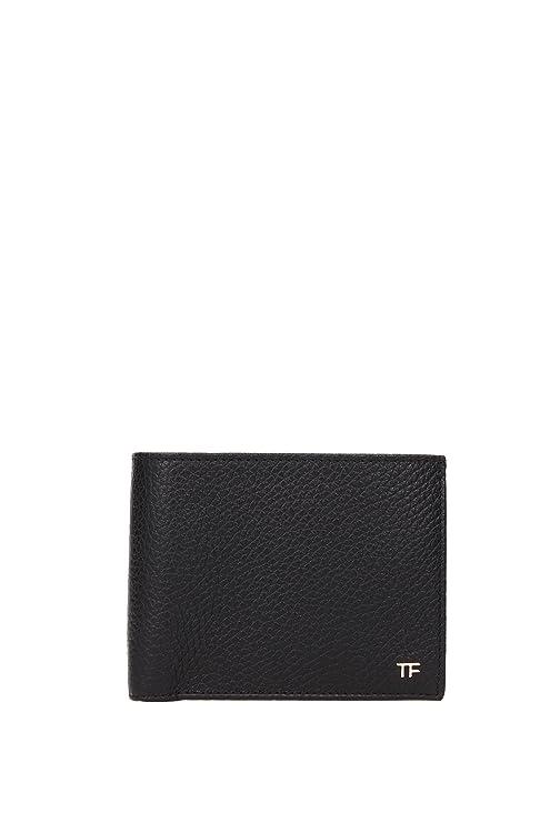 Billeteras Tom Ford Hombre - Piel (Y0136CALCBLK)