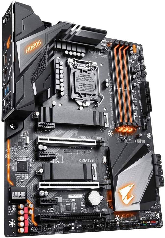 Gigabyte Z390 Aorus Pro, Placa de Base, Ethernet, Negro