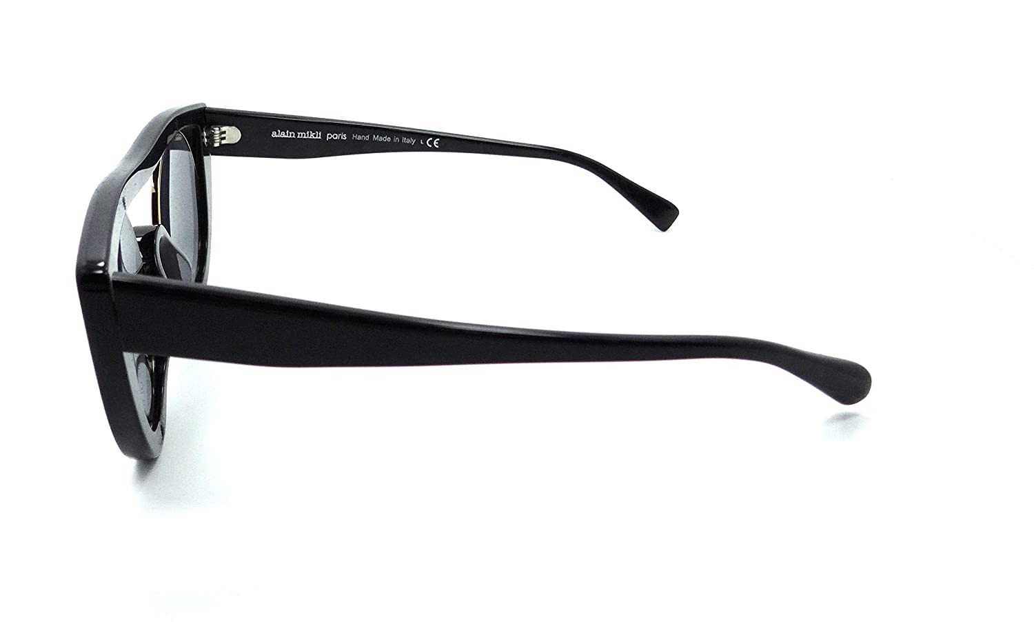 Alain Mikli Sunglasses A05034 001//6G 45-25-145 Ayer Black Marble//Grey Mirror