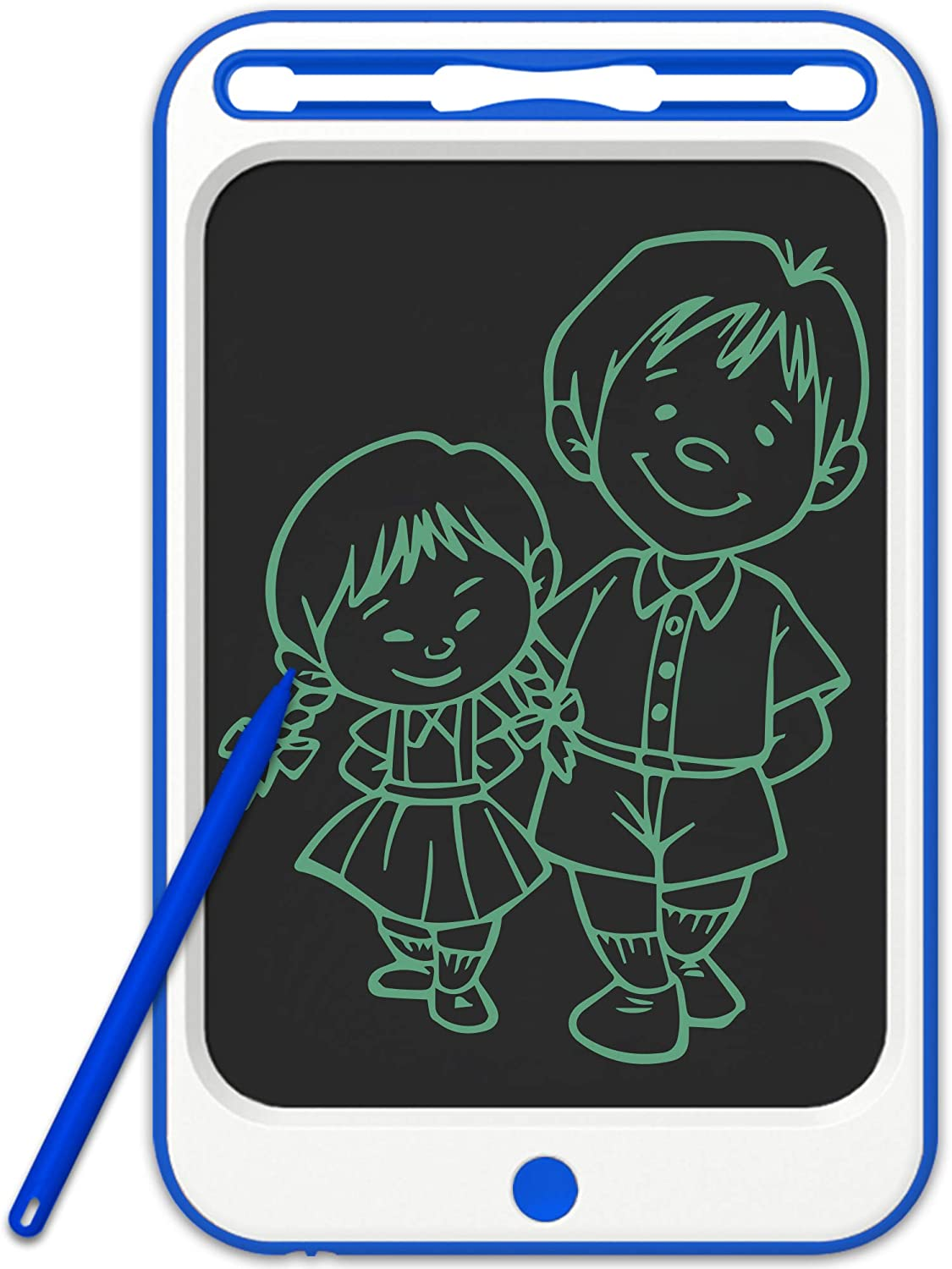 JONZOO LCD Writing Drawing Tablet 10 inch Electronic Doodle Board with Screen Lock Digital Sketch Pad Erasable Reusable eWriter Paperless Tool for Kids Adults at Home/School/Office…