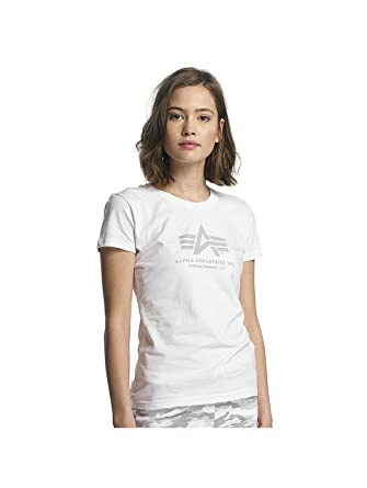 low priced 1173e 27aaa Alpha Industries Women T-Shirts Logo