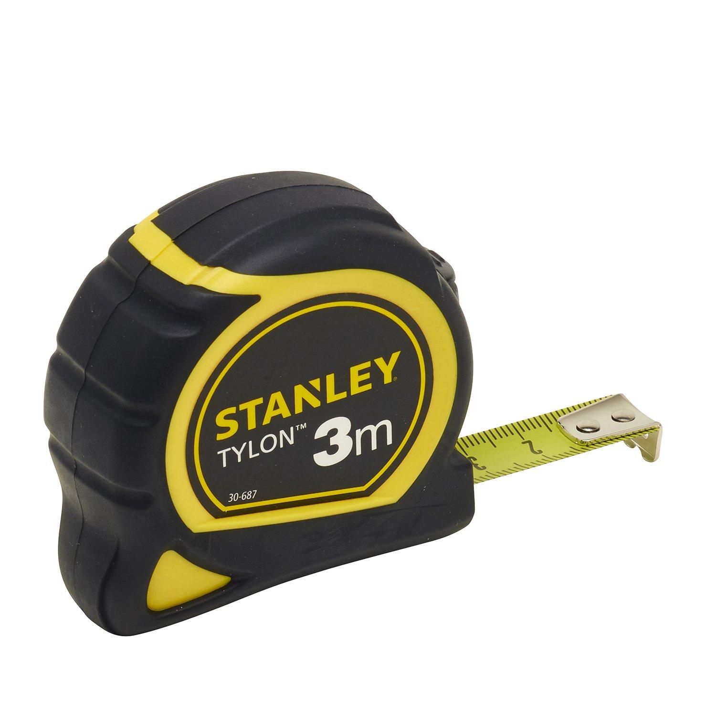 Stanley poches mètre Tylon 3m12,7 mm bi-mate.