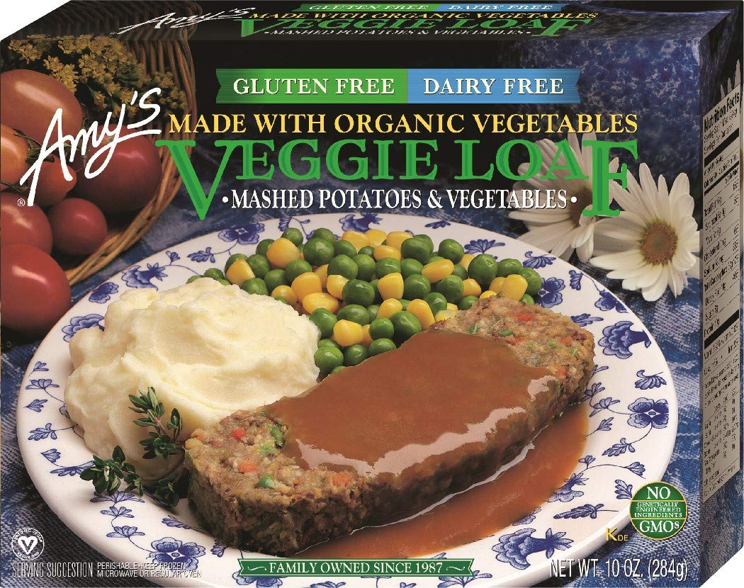 Amy's Whole Meals, Veggie Loaf, 10 Ounce (Frozen)