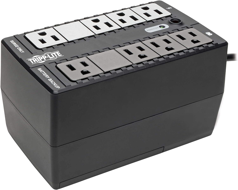 Tripp Lite 500VA UPS Battery Backup Surge Protector