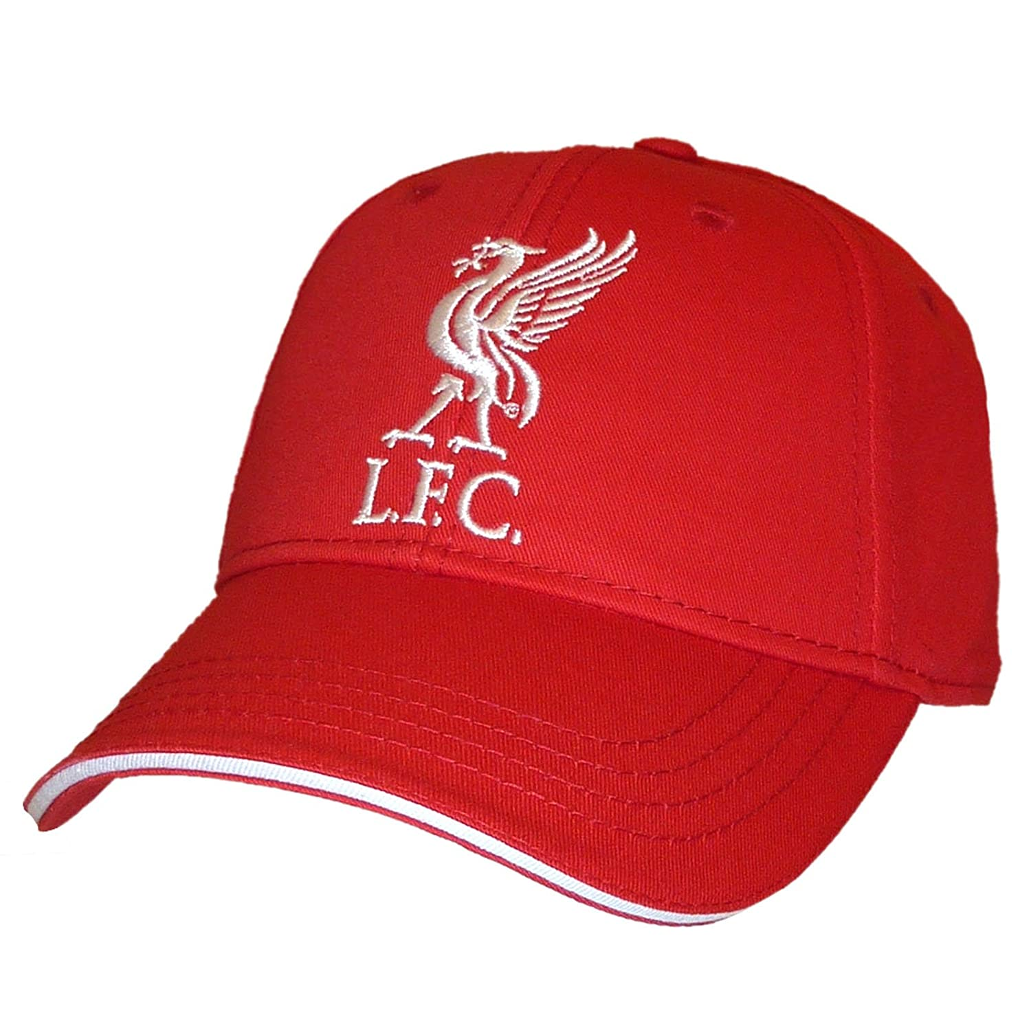 1b460fd02ee Liverpool FC Red Baseball Cap (Core)  Amazon.co.uk  Sports   Outdoors
