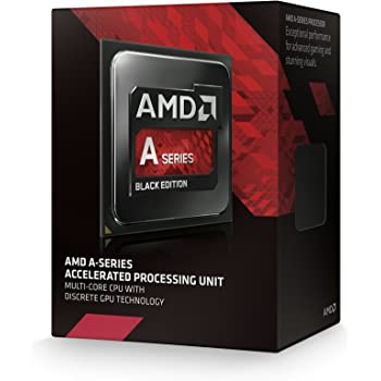 AMD A10 Procesador para PC, 3.6 GHz, 4 Núcleos, Socket FM2+, 4 MB