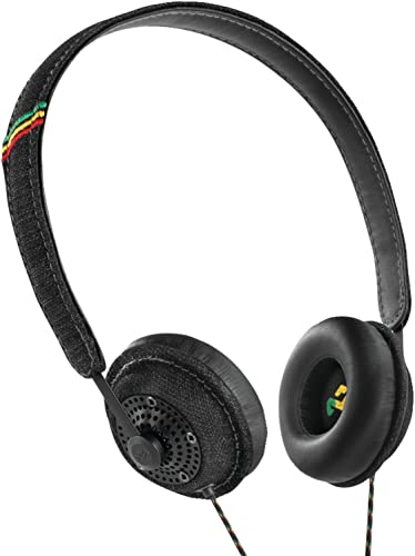 House of Marley EM-JH041-MI Harambe Midnight On-Ear Headphones
