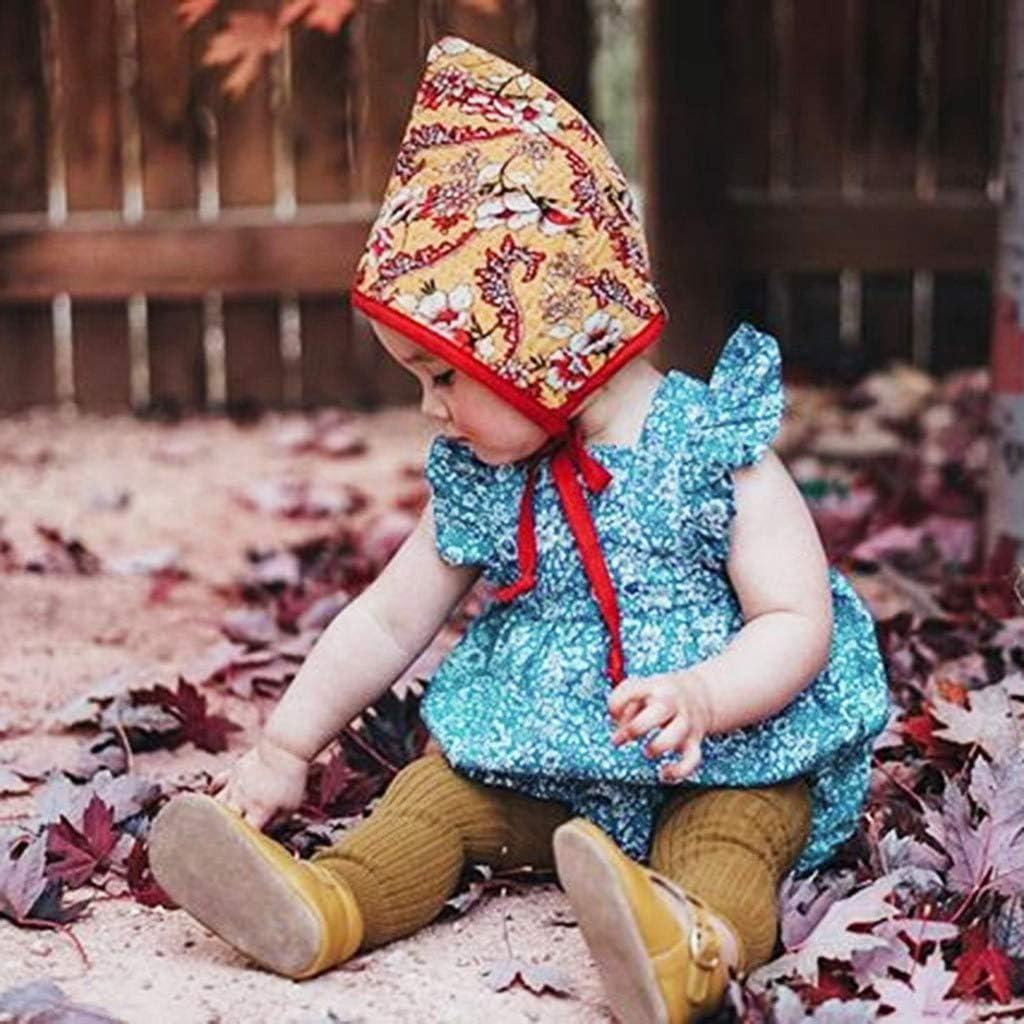 Hokoaidel Ropa Bebe Niña Vestidoa Mono para Bebés Niña Vestidos ...