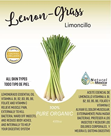 2 Lemon Grass Oils - 2 Aceites de Limoncillo