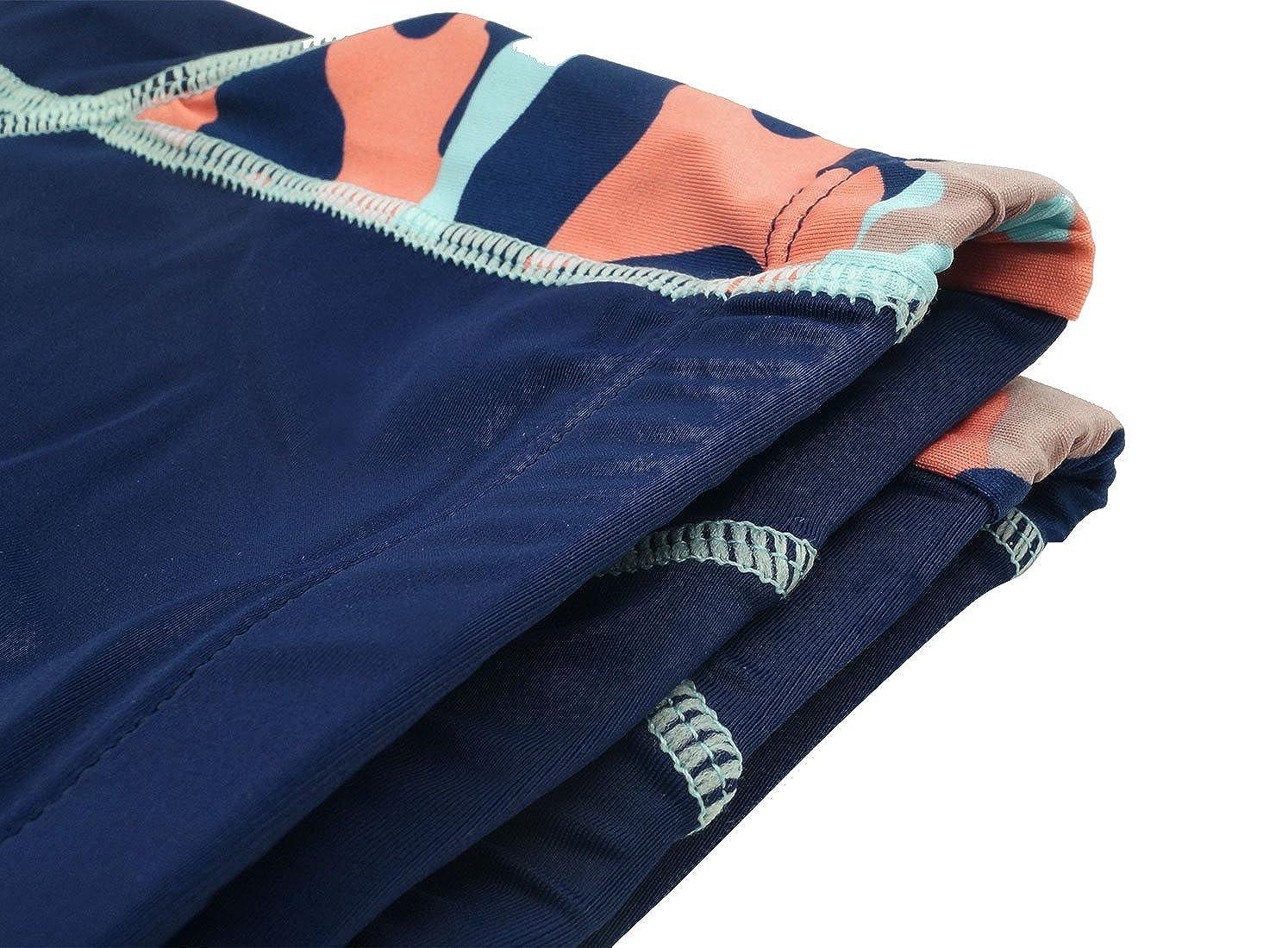 Aivtalk Boys Swimming Trunks Drawstring Mesh Lined Quick Dry Boxer Briefs 4-8T