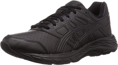 Asics Gel Contend 5 Sneakers for Men, Black, 44 EU