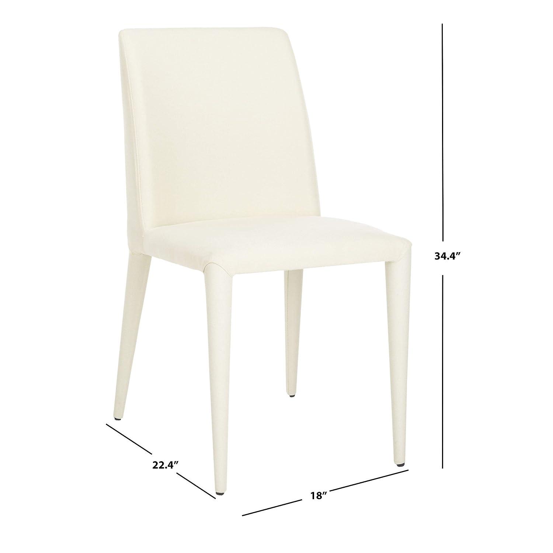 Amazon.com: garretson silla contemporánea Side – Conjunto de ...