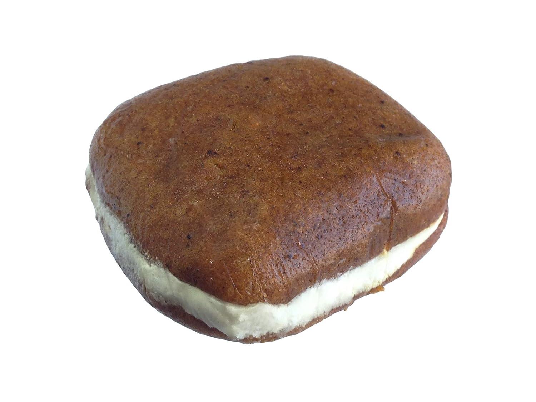Bird-in-Hand Bake Shop Homemade Whoopie Pies, Pumpkin, Favorite Amish Food (Pack of 12)