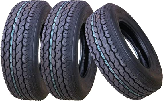 5 New Free Country Trailer Tire ST205//75D15 2057515 15 F78-15 Bias 6PR 11021