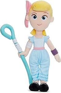 Disney 37270 Pixar Toy Story 4 Bo-Peep - Muñeca Blanda en Caja de Regalo, 25 cm, Color Blanco
