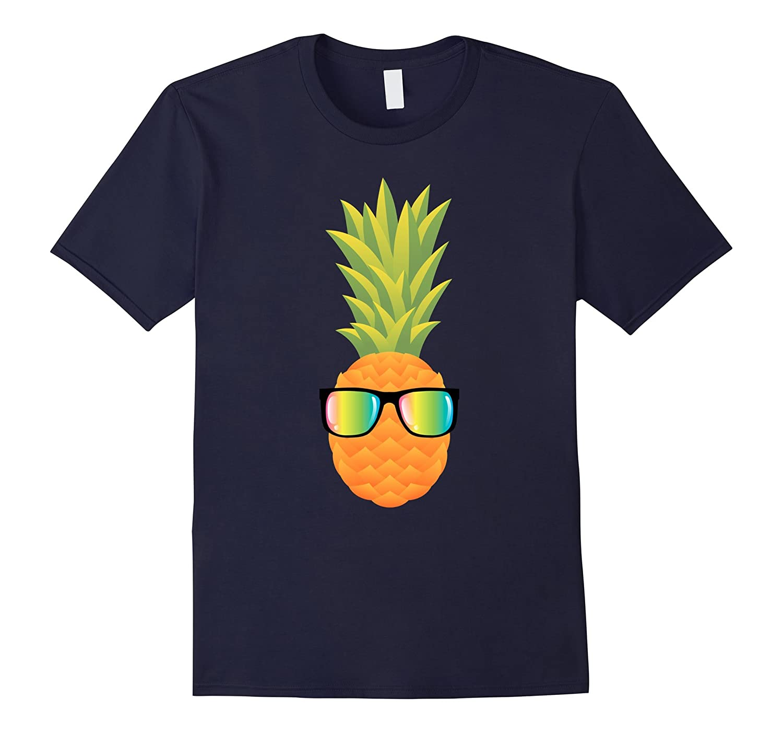 Hawaiian Pineapple with Sunglasses Illustration Gift-T-Shirt-PL
