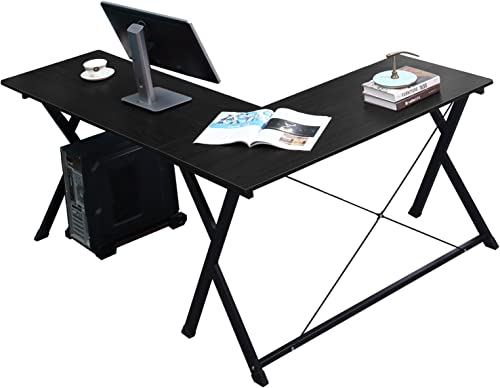 soges 62 inches L Shape Computer Desk Large Corner Desk