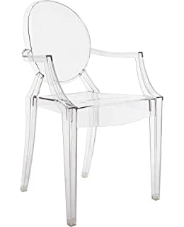 Kartell 4852B4 Louis Ghost Chaise Lot De 2 54x93x55cm Cristal
