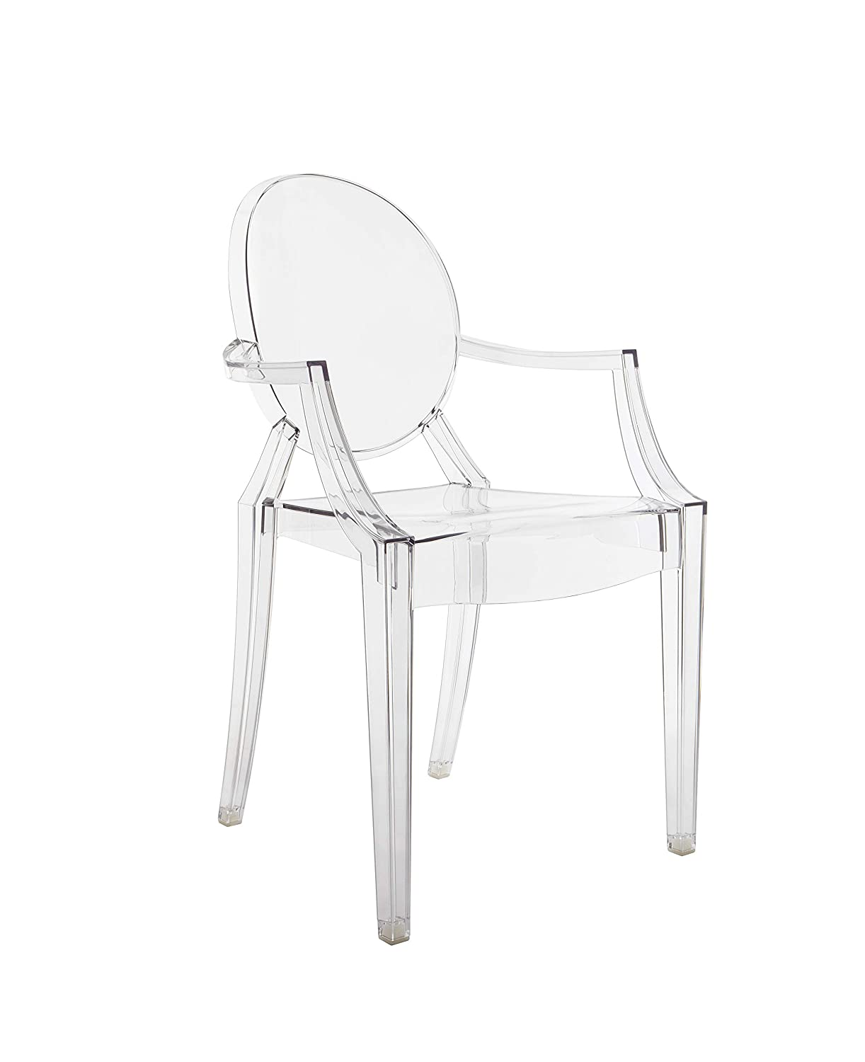 Kartell Louis Ghost Chairs, Blue, 55x54x93 cm 4852/J5
