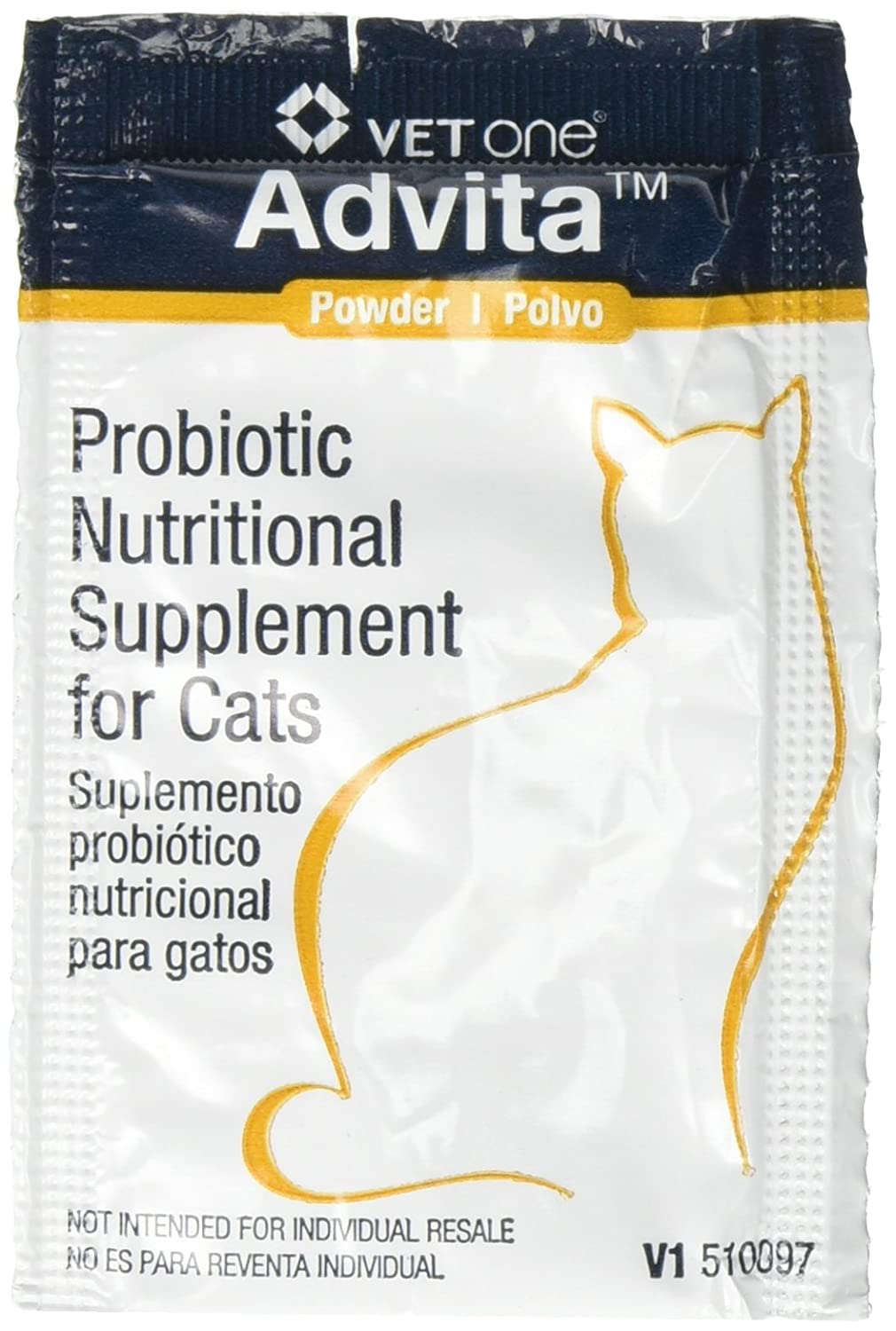 Advita Powder Probiotic Nutritional Supplement for Cats - 30 (1 gram) packets