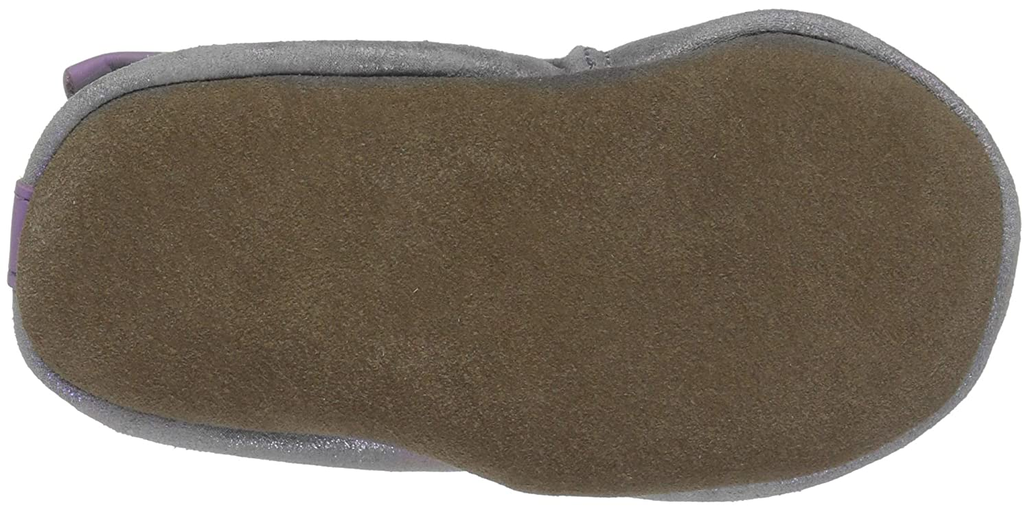 Robeez Girls Soft Soles with Bow Back Slip-On