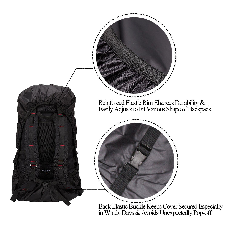 Backpack Waterproof Cover Rucksack Bag Elastic Rain Backbag Adjustable Un Rucksäcke Sonstige