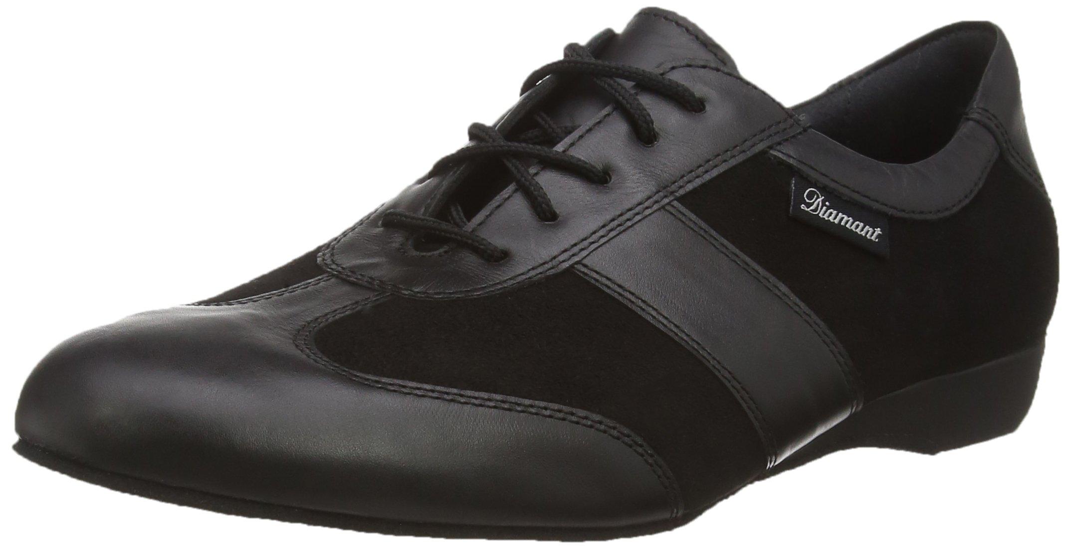 Diamant Men's Model 123 Dance Sneaker- 1'' (2.5 cm) Wedge Heel (Wide - H Width), 8.5 W US (8 UK)