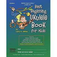 Best Beginning Ukulele Book for Kids: Easy learn how to play ukulele method for beginner students and children of all…