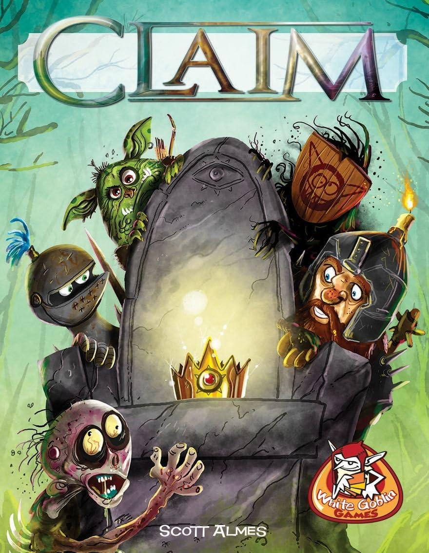 White Goblin Games Claim 1 Juego de tablero: Amazon.es: Juguetes y juegos