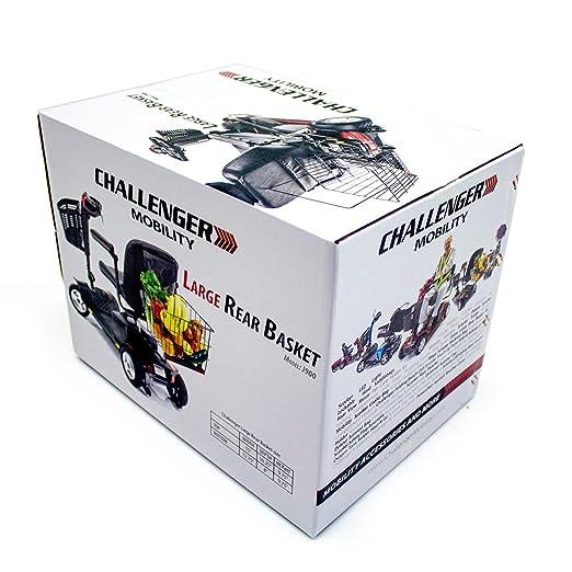 Amazon.com: challenger Movilidad j900 Large cesta trasera ...