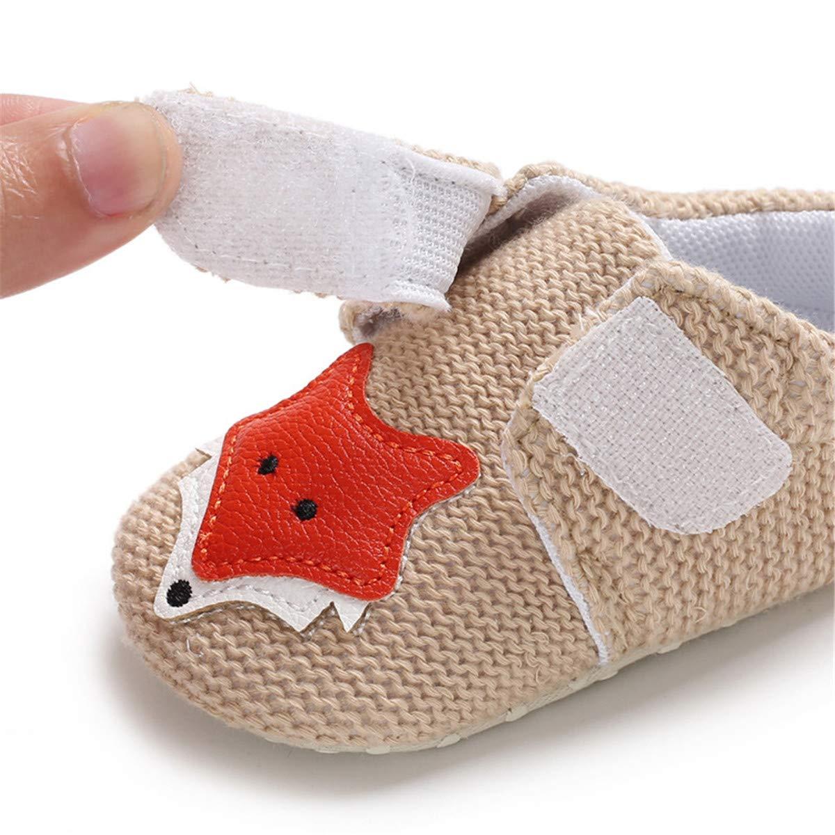 BENHERO Infant Baby Boys Girls Slippers Non Slip Soft Sole Booties Baby Socks Newborn Moccasin First Walking Crib Shoes