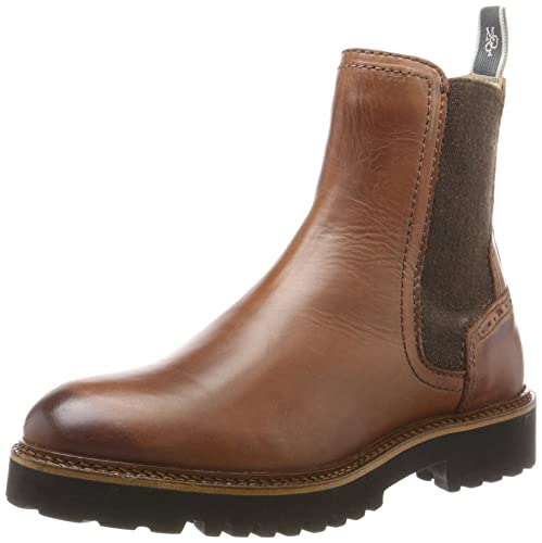 Marc OPolo Flat Heel Chelsea 70814235001108, Botas Mujer, marrón ...