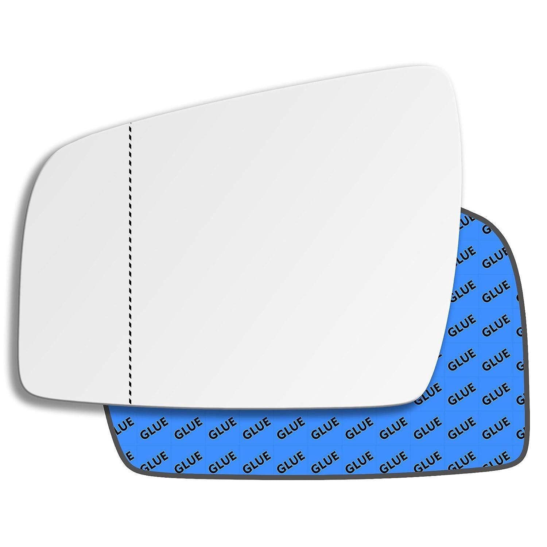 Hightecpl 512las Main gauche passager pr/ès c/ôt/é Large Angle de porte de remplacement de glace de r/étroviseur