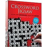 Crossword Jigsaw Puzzle - Solve The Crossword - Finish The 550 Piece Floor Puzzle ( 24'' x 18'' )