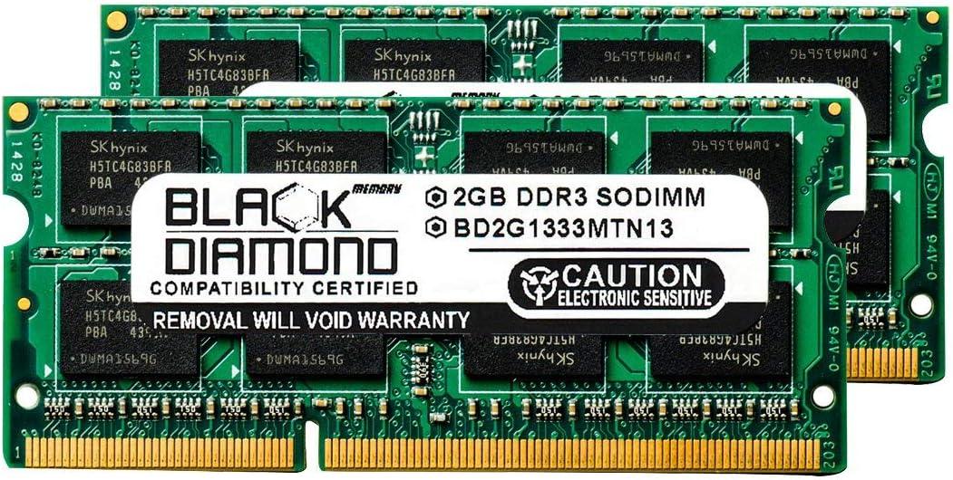 4GB 2X2GB RAM Memory for Compaq HP 2000 Series 2000-299WM Black Diamond Memory Module DDR3 SO-DIMM 204pin PC3-10600 1333MHz Upgrade