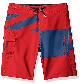 0be327db56 Amazon.com: Volcom Boys' Logo Party Pack Mod Little Youth Boardshort:  Clothing