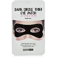 Máscara Dark Eye Patch Tipo Óculos para Área dos Olhos, Acaci, Preto