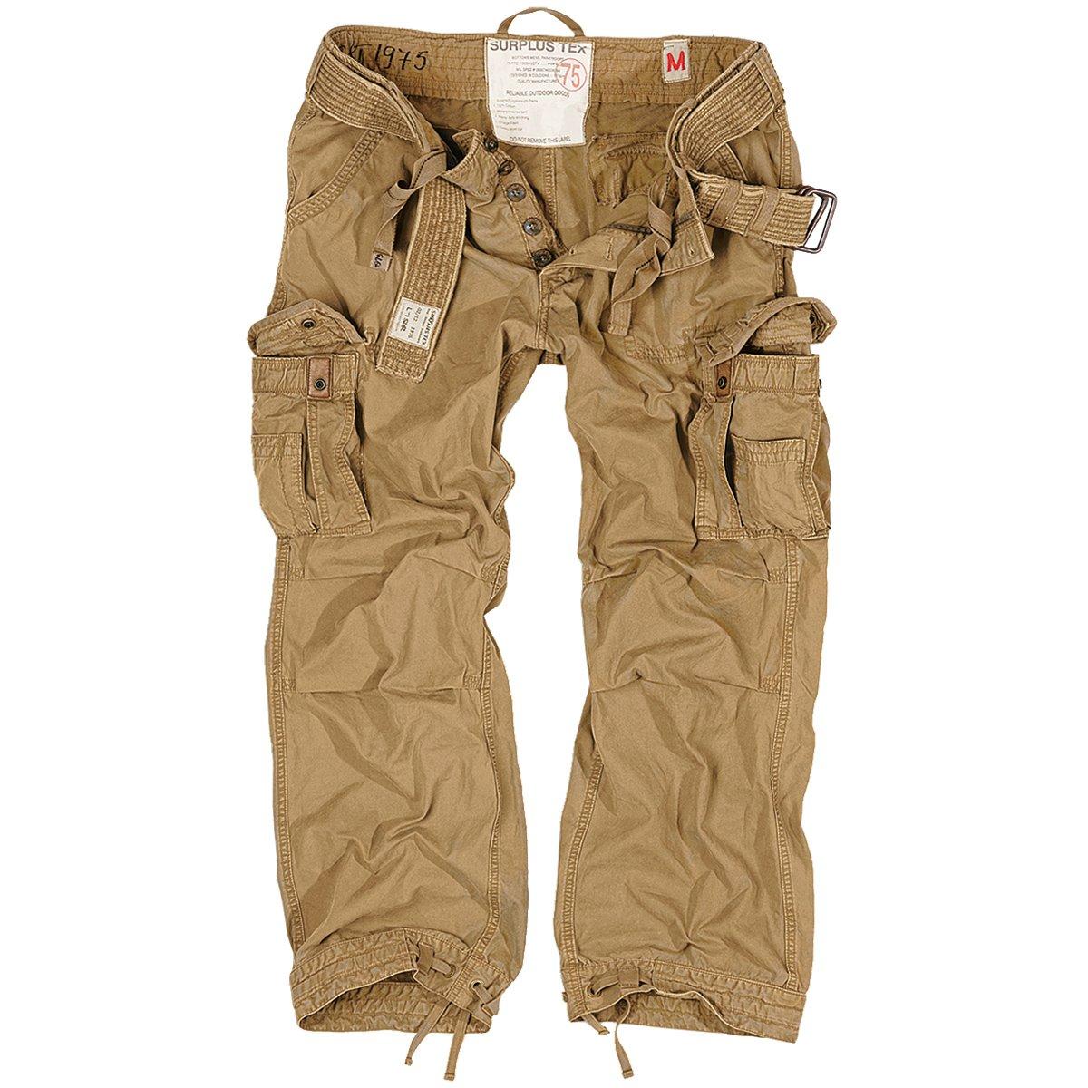 Surplus Premium Vintage Trousers Coyote size L